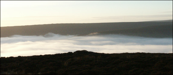 Farndale full of mist!