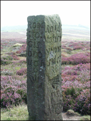 Blakey Ridge ancient signpost